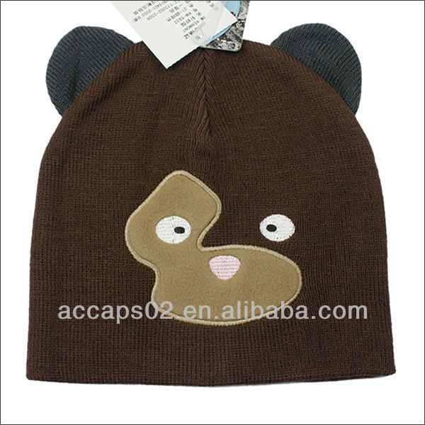 cute adult animal winter hats
