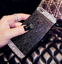 New Glitter Luxury Shining Bling Mobile Phone Cover Case For iphone 4 4S