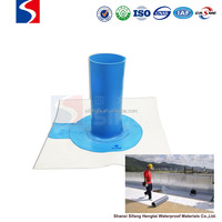 construction pvc membrane foundation waterproofing