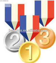 customize award metal medals/trophies/medallion(gold,sliver,brass) with number