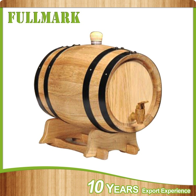 pine oak wood mini wine whiskey barrel