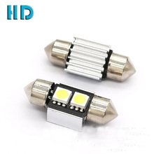 Auto lighting system White 31mm 36mm 5050 2 SMD LED Canbus Interior Car c5w led Festoon Dome Light Lamp Bulb
