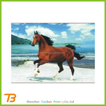 2015 hot cool 3d animal bookmark with horse design