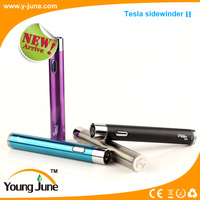 Newest!!!Tesla sidewinder 2 new design product sidewinder e-cig mod with huge capacity 2000 mah battery