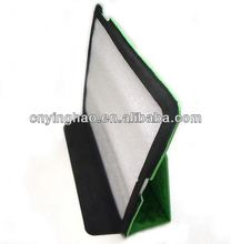 2014 special pu microfiber leather ipad3 accessory