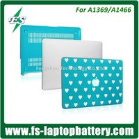 High Quality and Cheap Silicone Rubber PC Protective Shell Case Cover for Apple Macbook Air 13 inch