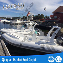 Luxury Yacht Type and Outboard Engine Type military rib boat580