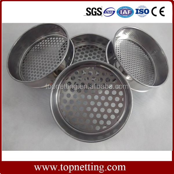 Laboratory wire mesh test sieve