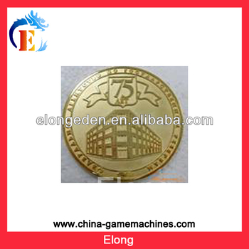 Game machine coin token game machine accessory