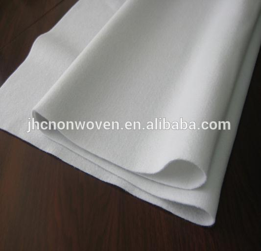 Polyester waterproof paper roofing needle punched felt fabric