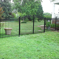 modern garden fence and gates,steel fence gates grill design,powder coated steel fence and gate