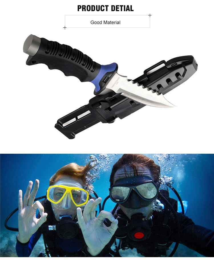 MARCH EXPO 2018 Factory Price Military Survival Diving Knife