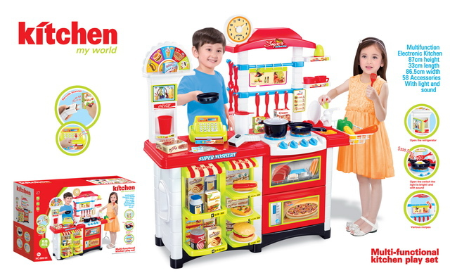 New style toy kitchen tool with EN71