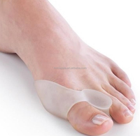 Silicone Finger Protector Insoles Type and Silicone Gel Material Toe Straightener HA00486
