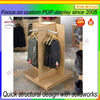 Cedar wood display shelf clothes
