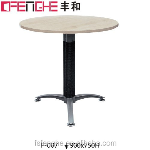 Small White Office Wooden Tea Table Chinese End Table F-007