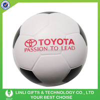 Custom Logo Anti Stress PU Plush Football
