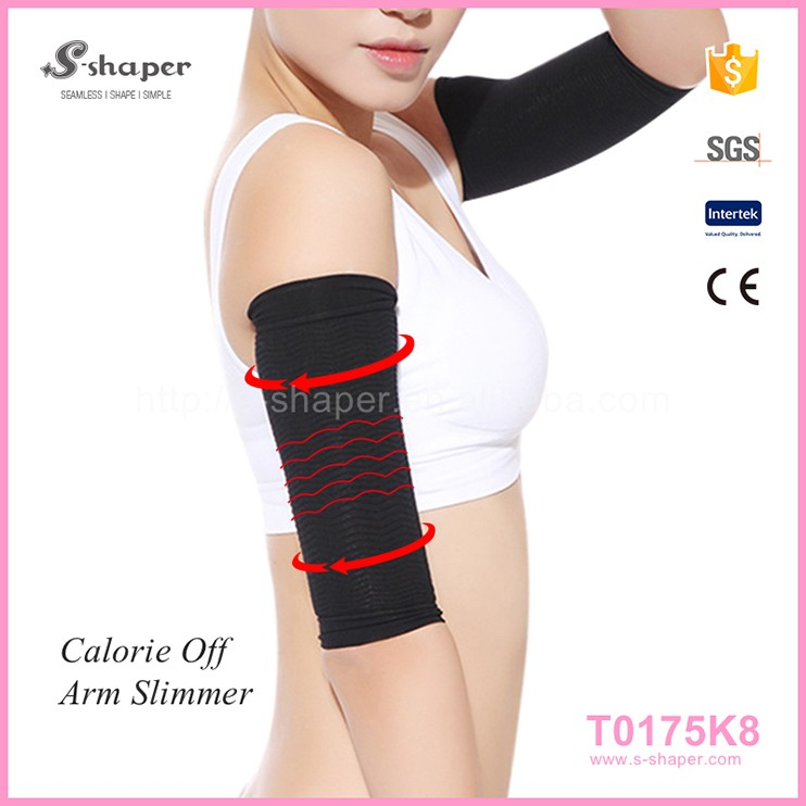 3D Knitting Fit Elbow Slimming Compresion Arm Sleeves