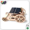 Educational Assembly Wooden Vehicle Solar Toy