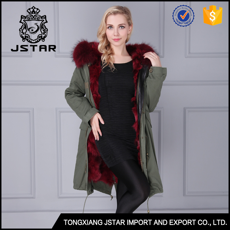 Latest design leather and beaver fur jacket coat women apparel fur winter coats