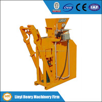 HR1-25 compressed earth blocks machines ecological interlocking brick making machine manual hydraulic press machinery
