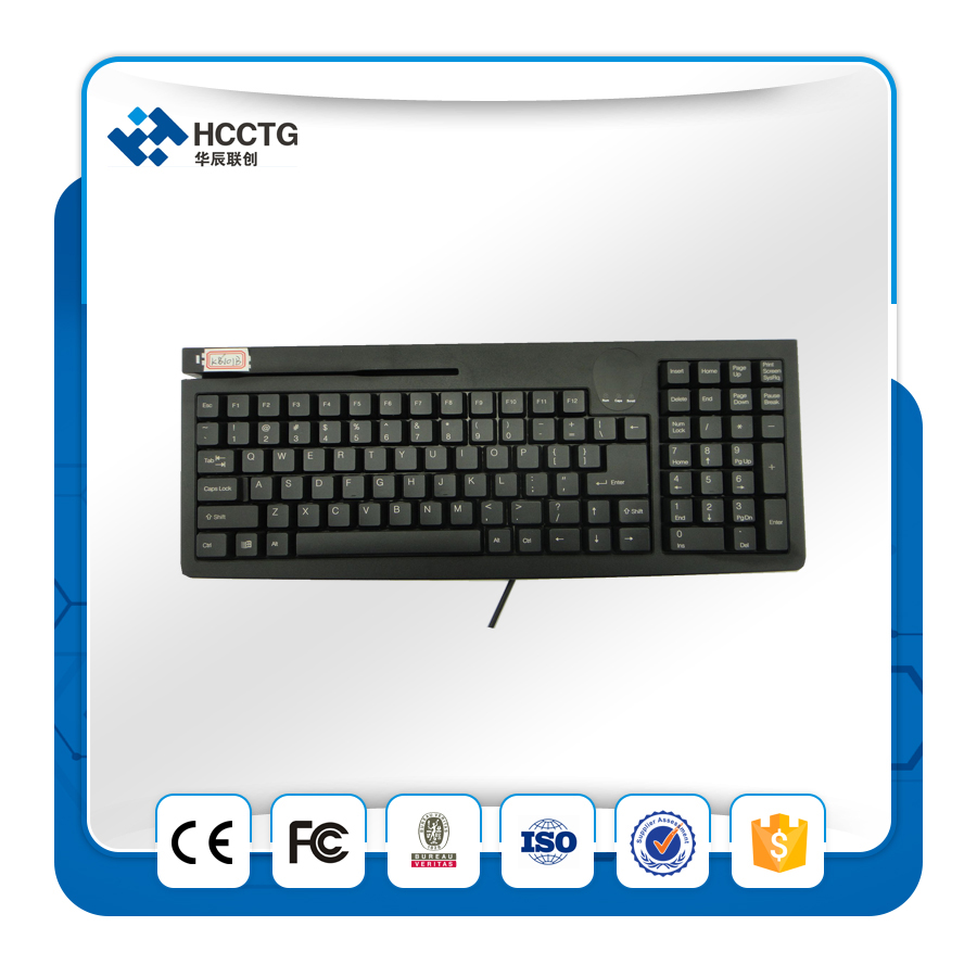 Used Computer Kiosk Internet Wireless Mini Mechanical Keyboard For Atms Kb101