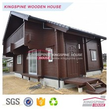 cheap modern prefab wooden house log cabin made in china KPL-059