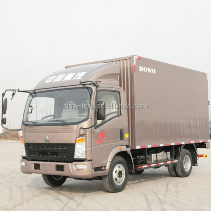 low price 3ton - 10ton light cargo truck box truck for sale