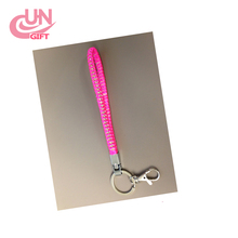 NEW product Rhinestone Bling Crystal Wristlet keychain and Lanyard