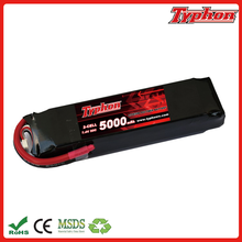 super power rc lipo 5000mah 50c 2s 7.4v battery batteries with long cycle life