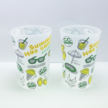 Factory OEM/ODM Cold Temperature Color Changing Sensitive Plastic Cup