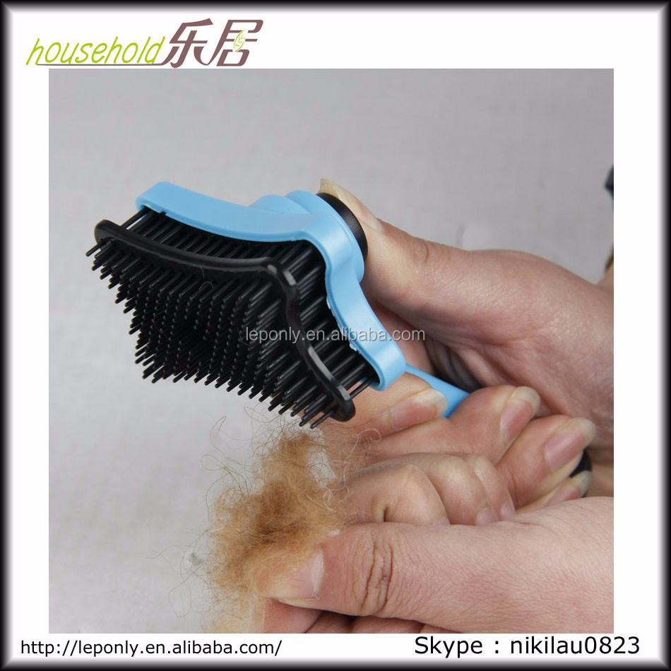 Easy Clean Out dead Hair Dog Grooming Brush/Pet Grooming brush
