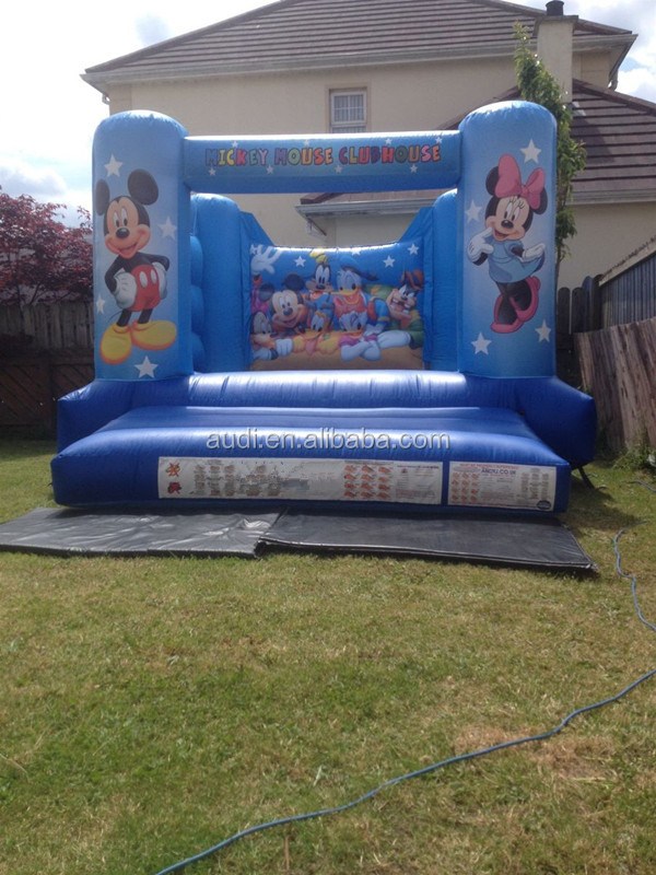 Big mouse 12ft x 15ft Castle/animal jumpers inflatable