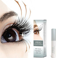 Feg eyelash growth serum liquid herbal long curly become warped super strong eyebrows thick authentic eyelash growth liquid