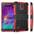 Wholesale Fancy Cell phone Case Cover for Samsung Galaxy Note 4, TPU+PC Hybrid Hard Phone Case Cover for Samsung Galaxy Note 4