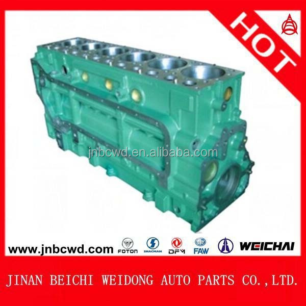 61500010383 weichai engine truck parts, Sinotruk Howo Engine Cylinder Block