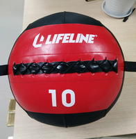 10LB PU Crossfit Wall Ball Soft Medicine Ball