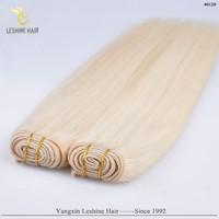 China Supplier Wholesale Top Quality No Chemical Long Lasting blonde human hair ponytail