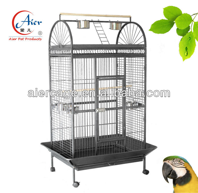 Inexpensive Factory wholesale pet supplies stainless steel parrot cage