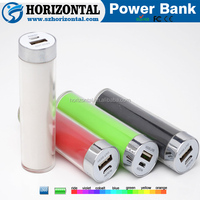 Hot sell halal lipstick spice mobile battery charger,18650 power bank 2600 manufacturer
