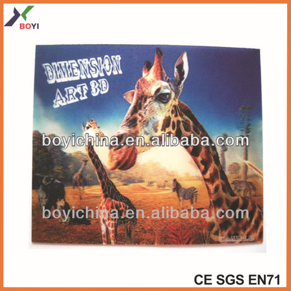 2014 chinese manufacture PET 3d pictures of animals