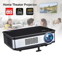 3200 lumens home projector 1280*800 pixels support full 1080p multimedia lcd projector