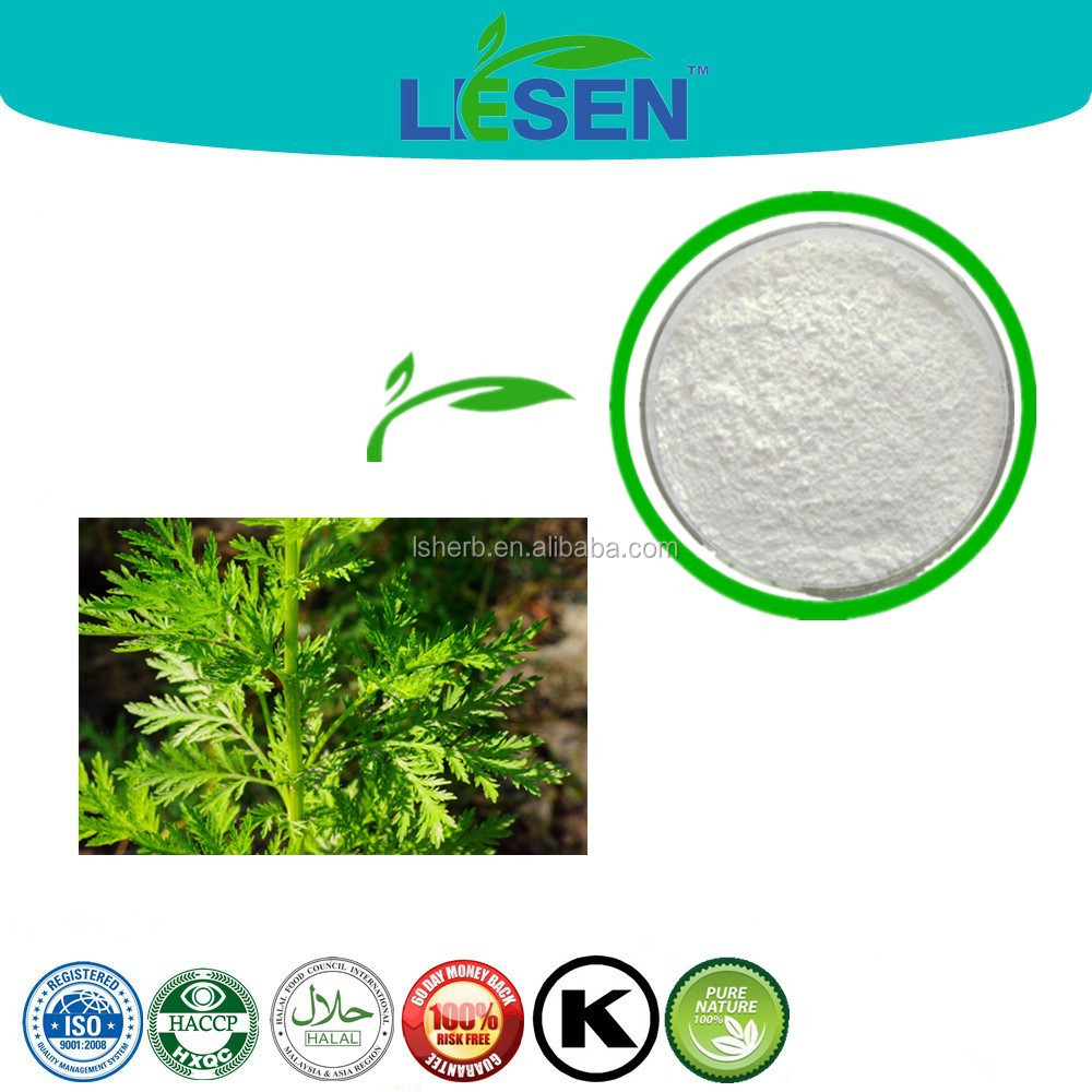 HACCP/ISO factory supply natural artemisinin plant extract