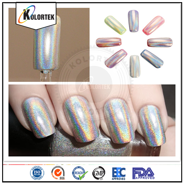 Wholesale holographic powder nails, holographic pigment powder for nail polish factory
