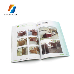 Catalog design advertising a5 furniture catalogue and brochure printing