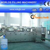New technology water bottling equipment