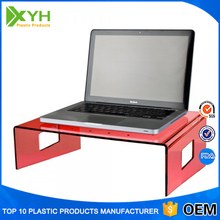 Plastic Counter Top Place Laptop Notebook TV holder Acrylic Computer Monitor Stand