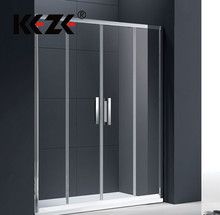 New Design High Quality Wet Room Glass Bath Shower Screen