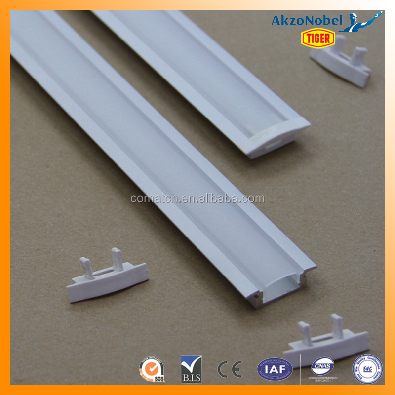 China Extrusion Aluminum Profile for LED Strip Designing