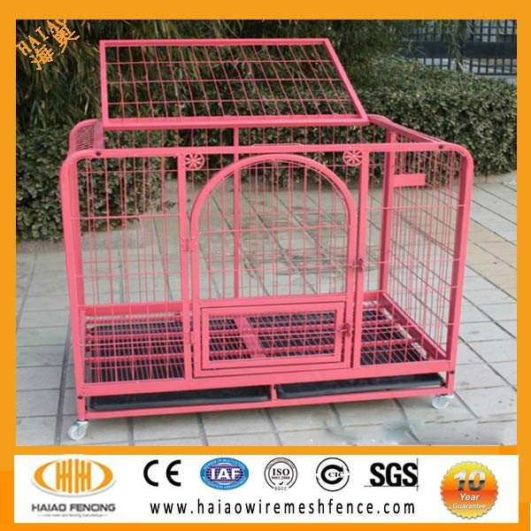 Made in China factory direct sale commercial dog cage,handmad dog cage